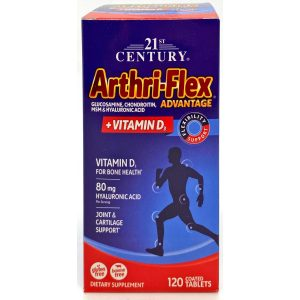 21st Century Arthri-Flex Advantage + Vitamin D3 120 Tablets