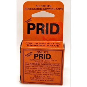 Prid Homeopathic Drawing Salve