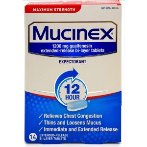 Maximum Strength Mucinex 1200 MG