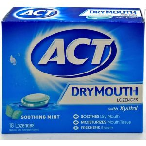 ACT Dry Mouth Lozenges 18 CT