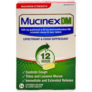Maximum Strength Mucinex DM 1200 MG