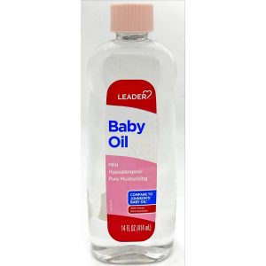 Leader Baby Oil 14 Oz