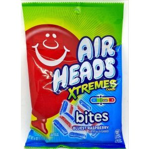 Air Heads Xtremes Bites Bluest Raspberry