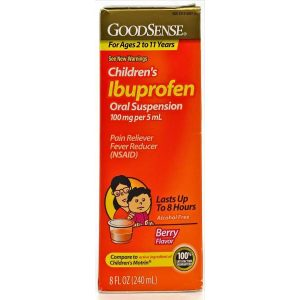 Children's Ibuprofen (100 mg / 5 mL)