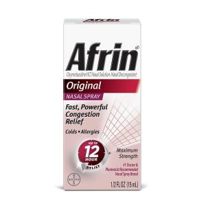 Afrin 12 Hour Nasal Spray Original 0.5 OZ