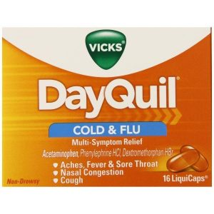 Vicks Dayquil Cold & Flu Liqui-Caps